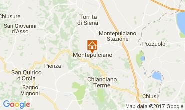 Mapa Montepulciano Apartamento 110028