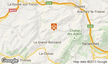 Mapa Le Grand Bornand Apartamento 95442