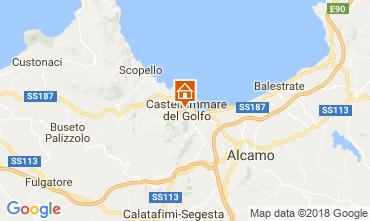Mapa Castellammare del Golfo Apartamento 113998