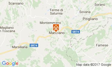 Mapa Manziano Apartamento 109164