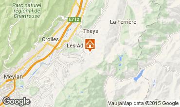 Mapa Les Sept Laux Apartamento 2808