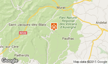 Mapa Super Lioran Casa rural 63622