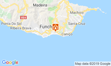 Mapa Funchal Casa 118021