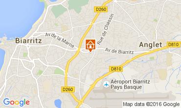 Mapa Biarritz Apartamento 105584