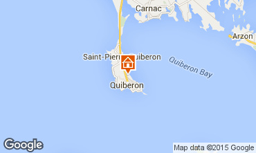 Mapa Quiberon Apartamento 28770