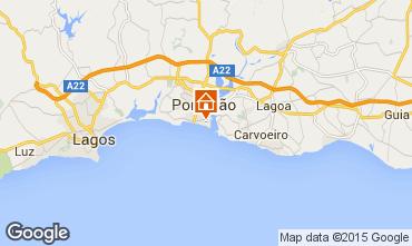 Mapa Praia da Rocha Apartamento 73354