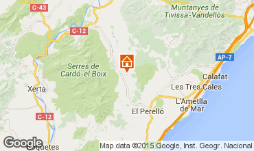 Mapa Perelló Villa 101385