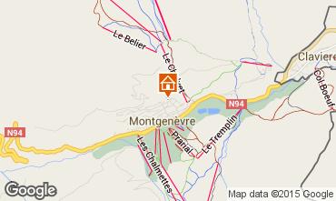 Mapa Montgenevre Estudio 66833