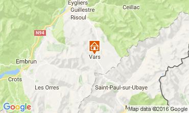 Mapa Vars Apartamento 50452
