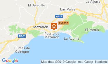 Mapa Puerto de Mazarrón Apartamento 113039