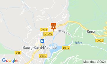Mapa Les Arcs Estudio 129