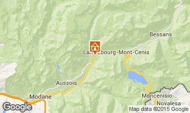 Mapa Termignon la Vanoise Apartamento 44928