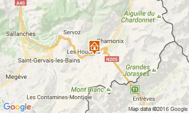 Mapa Chamonix Mont-Blanc Chalet 106440