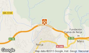 Mapa Nerja Casa 76927