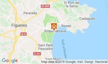 Mapa Ampuriabrava Villa 94535