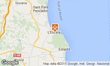 Mapa La Escala Chalet 76044