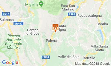 Mapa Roccaraso (AQ) Casa 91641