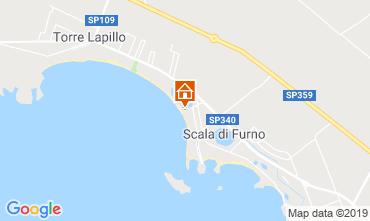 Mapa Porto Cesareo Apartamento 116787