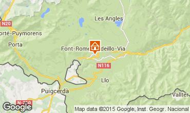Mapa Font Romeu Apartamento 73439
