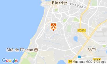 Mapa Biarritz Apartamento 112057