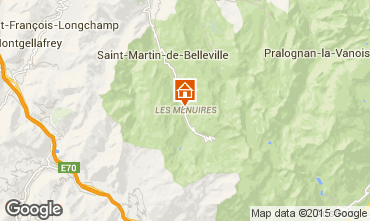 Mapa Les Menuires Apartamento 42285