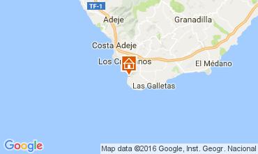 Mapa Los Cristianos Apartamento 103218