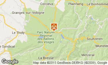 Mapa Gérardmer Chalet 60405