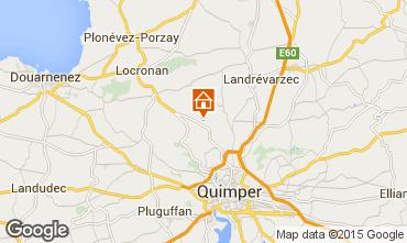 Mapa Quimper Casa 96123