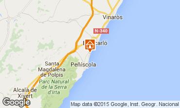 Mapa Peñíscola Apartamento 76968