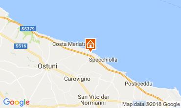 Mapa Ostuni Villa 94351