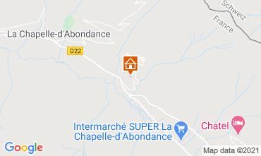 Mapa Ch�tel Chalet 600