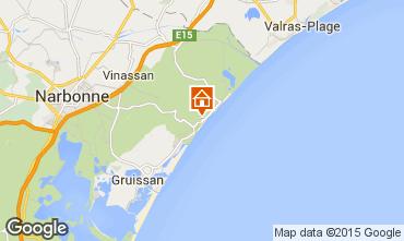 Mapa Narbonne Apartamento 51782