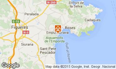 Mapa Ampuriabrava Casa 68861