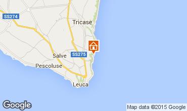 Mapa Marina di Novaglie Estudio 74731
