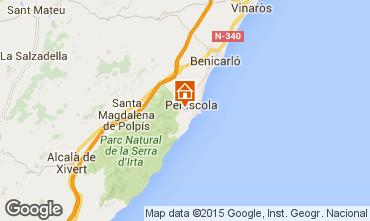 Mapa Peñíscola Apartamento 98939