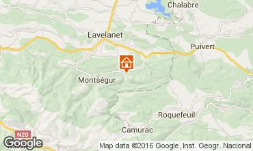 Mapa Mirepoix Casa rural 103273