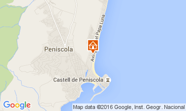 Mapa Peñíscola Apartamento 96799