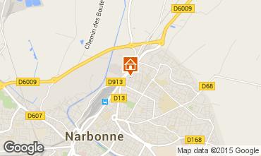 Mapa Narbonne Apartamento 9175