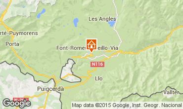 Mapa Font Romeu Apartamento 91444