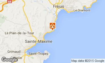 Mapa Les Issambres Villa 15629