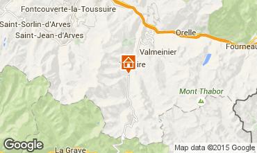 Mapa Valloire Apartamento 3418