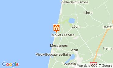 Mapa Moliets Casa 110649