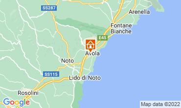 Mapa Avola Apartamento 57459
