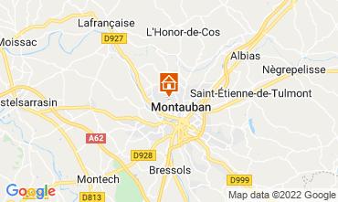 Mapa Montauban Casa rural 73584