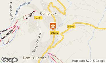 Mapa Combloux Apartamento 98845