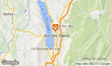 Mapa Aix Les Bains Apartamento 80483