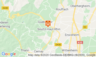 Mapa  Casa rural 96647