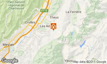 Mapa Les Sept Laux Apartamento 69719