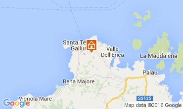 Mapa Santa Teresa di Gallura Villa 82142