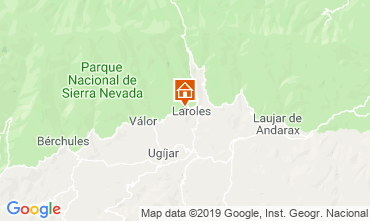 Mapa Granada Casa rural 83882